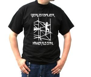 T-Shirt Gerüstbauer Männer aus Stahl