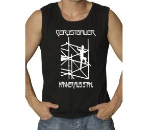Muskelshirt Gerüstbauer Männer aus Stahl