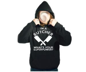 Kapusweatshirt Im A Butcher