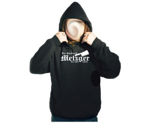 Kapusweatshirt Das Handwerk Metzger Es lebe Hoch
