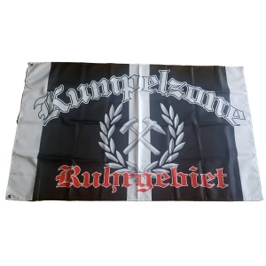Fahne Kumpelzone Ruhrgebiet