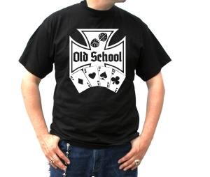 T-Shirt Old School Gambling