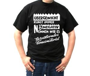 T-Shirt Übergewicht klingt immer so negativ