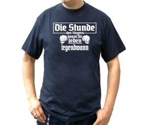 T-Shirt Die Stunde des Siegers