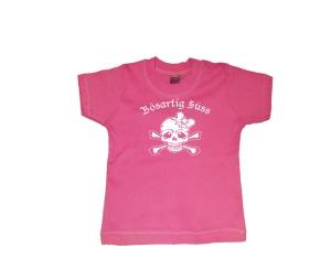 Kinder Shirt Bösartig Süss