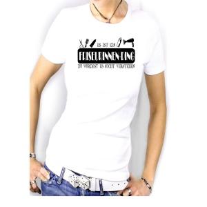 Damen Shirt Es ist ein Friseuringen Ding