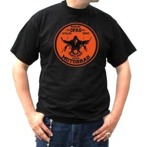 T-Shirt Opa Motorrad