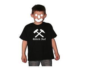 Kinder Shirt Glück Auf