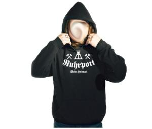 Kapusweatshirt Ruhrpott meine Heimat