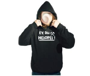 Kapusweatshirt Ey Du Heiopei Ruhrpott