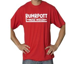 T-Shirt Ruhrpott Musse Wollen