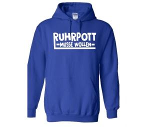 Kapusweatshirt Ruhrpott Musse Wollen
