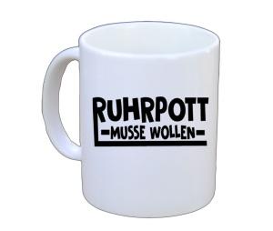 Tasse Ruhrpott Musse Wollen