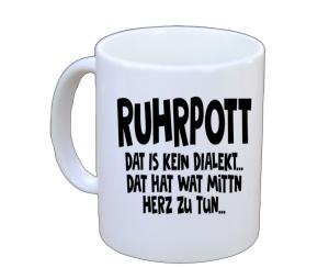 Tasse Ruhrpott Dat is kein Dialekt