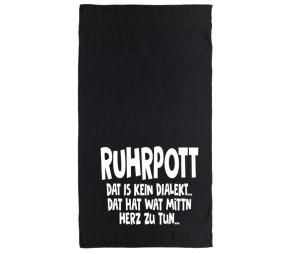 Handtuch Ruhrpott Dat is kein Dialekt