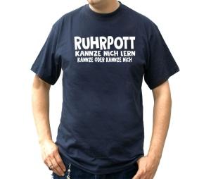 T-Shirt Ruhrpott kannze nich lern