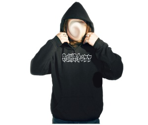 Kapusweatshirt Graffiti Ruhrpott