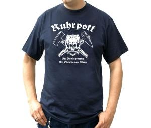 T-Shirt Ruhrpott Auf Kohle geboren
