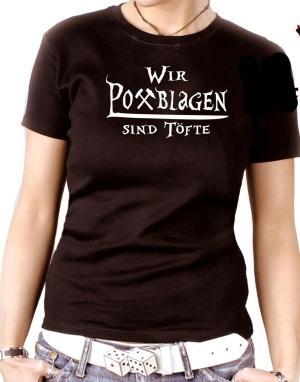 Damen Shirt Pottblagen