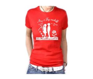 Damen Shirt Am 8ten Tag erschuf der liebe Gott