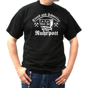 T-Shirt Ruhrpott Staub und Schweiss