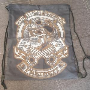 Rucksack Stringbag Ehre Respekt Freiheit