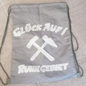 Rucksack Stringbag Glück Auf Ruhrgebiet