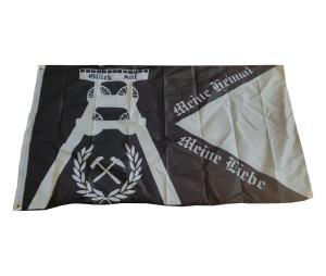 Fahne Ruhrpott Meine Heimat Meine Liebe Förderturm
