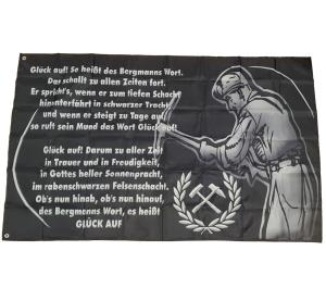 Fahne Bergmann Glück Auf