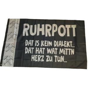 Fahne Ruhrpott Dat is kein Dialekt