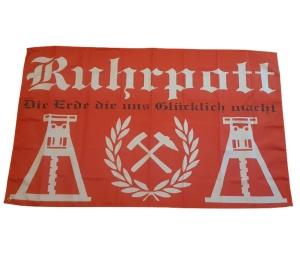 Fahne Ruhrpott Meine Heimat Meine Liebe