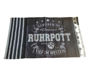 Fahne Ruhrpott Tief im Westen