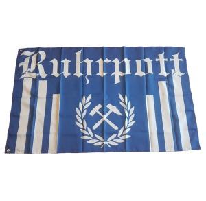 Fahne Ruhrpott Streifen