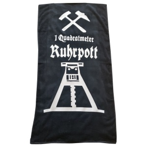 Strandtuch 1qm Ruhrpott