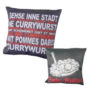 Kissenhülle Currywurst Ruhr-Kultur