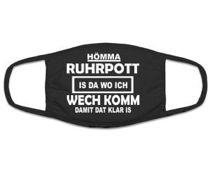 Mund Nasenschutz Hömma Ruhrpott is da wo ich wech komm
