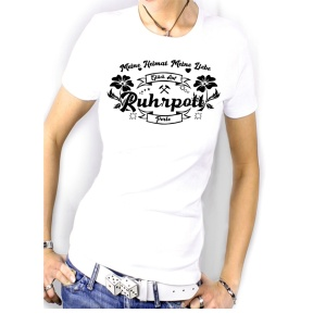 Damen Shirt Ruhrpott Perle Meine Heimat meine Liebe