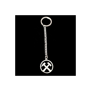 Schlüsselanhänger Ruhrpott Hammer und Schlegel