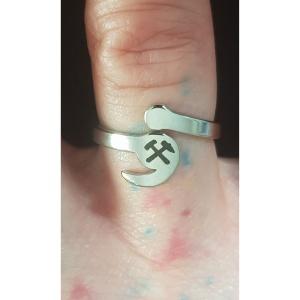 Ring Ruhrpott mit Hammer und Schlegel