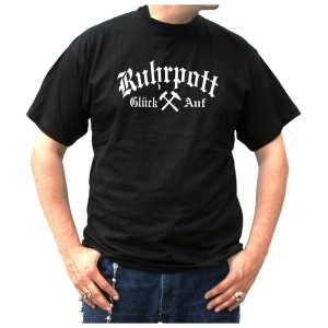 T-Shirt Ruhrpott Glück Auf