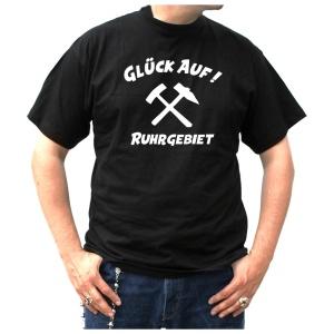 T-Shirt Hammer Glück Auf Ruhrgebiet