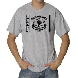 T-Shirt Wo nur die Freundschaft zählt Ruhrpott