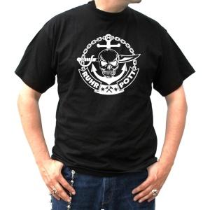 T-Shirt Anker Schädel Ruhrpott
