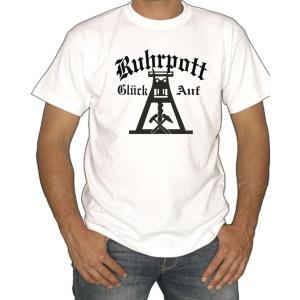 T-Shirt Logo Ruhrpott Glück Auf