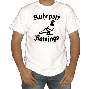 T-Shirt Ruhrpott Flamingo Taube
