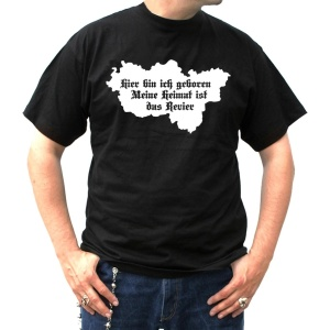 T-Shirt Ruhrpott Landkarte