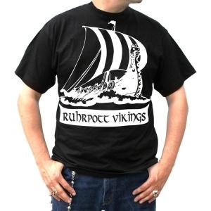 T-Shirt Ruhrpott Wikingerschiff