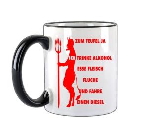 Tasse Zum Teufel ja