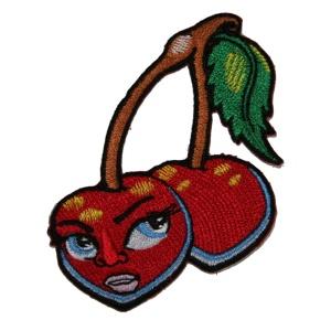 Aufnäher Cherry Rockabilly