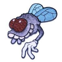 Aufnäher Fliege